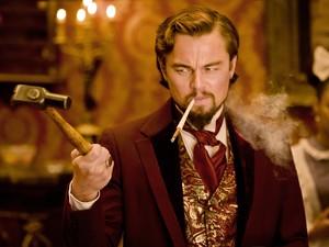 Leonardo DiCaprio, como o fazendeiro Calvin Candie: elenco tem atuação irrepreensível no longa, que estreia no próximo dia 18