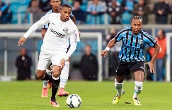 Com dupla de zaga inédita, Grêmio desafia algoz Robinho por volta ao G-4