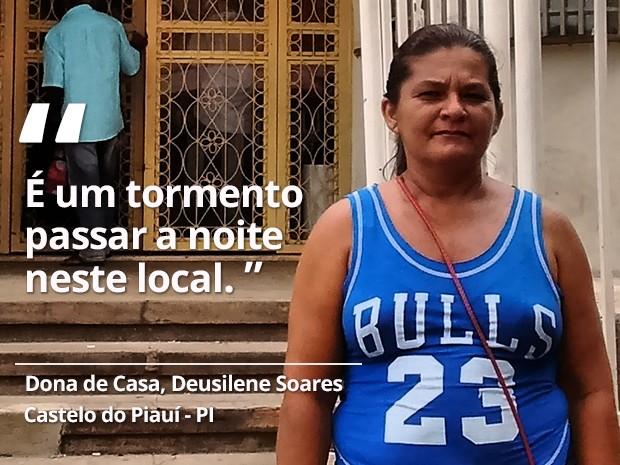 Deusilene Soares - Castelo do Piauí (Foto: Gilcilene Araújo/G1)