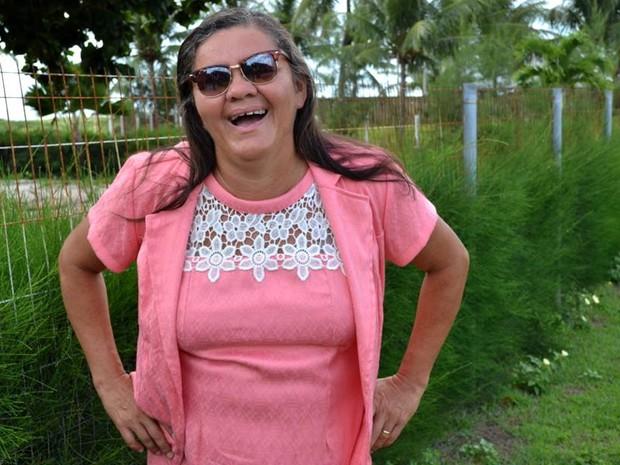 Isabel está casada e trabalha na Associação de Magistrados há 24 anos (Foto: Isabel Cristina/Arquivo Pessoal)