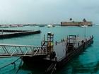 Chuvas suspendem operação de escunas de turismo nesta segunda