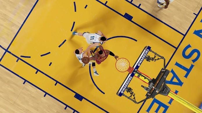De todos os ângulos, NBA 2K16 é um grande jogo (Foto: Reprodução/Thiago Barros)