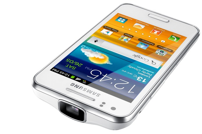 Detalhes do design do Galaxy Beam (Foto: Divulgação/Samsung)