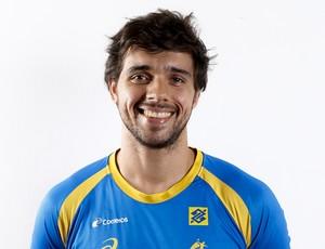 Diogo, seleção brasileira handebol (Foto: Divulgação/CBHb)