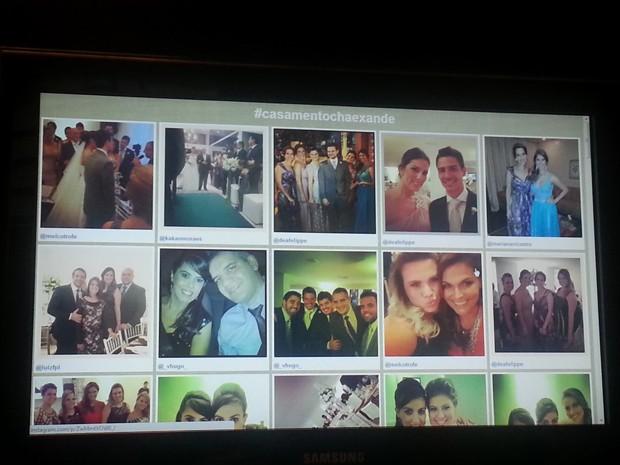 Após festa, fotos ficam disponibilizadas em um álbum virtual (Foto: Anna Gabriela Ribeiro/G1)