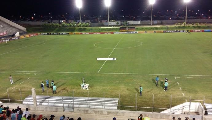 Estádio Barretão TR - Globo FC x Bahia - Copa do Brasil 2016 (Foto: Jocaff Souza/GloboEsporte.com)