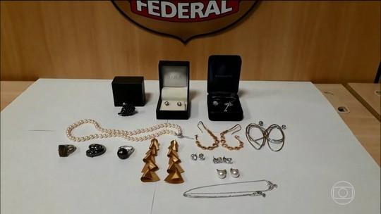 PF apreende 15 joias na casa da cunhada de Cabral