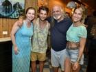 Gagliasso, Ewbank e Fê Paes Leme apresentam festival gastronômico