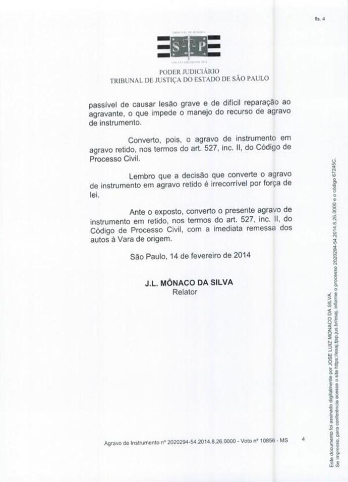 Contrato neymar (Foto: Divulgação / Site Oficial Neymar)