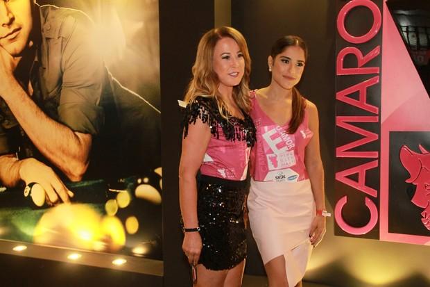 Zilu e Camila Camargo (Foto: GRAÇA PAES - BRAZIL NEWS)