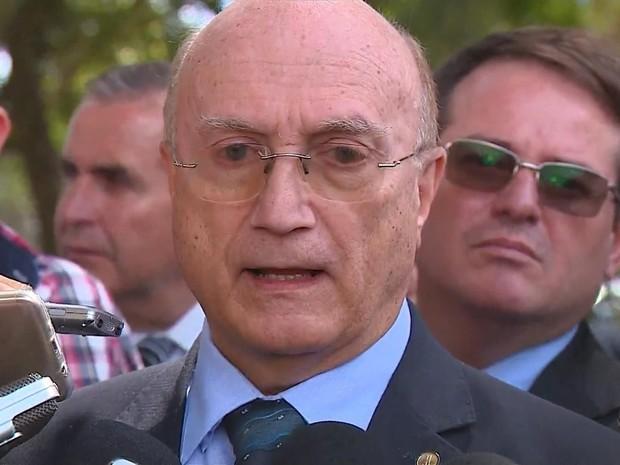 Osmar Serraglio comenta conversa gravada na Operação Carne Fraca (Foto: Reprodução/RBS TV)