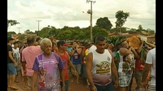 Devotos de São Sebastião fazem homenagem tradicional em Tomé-Açu