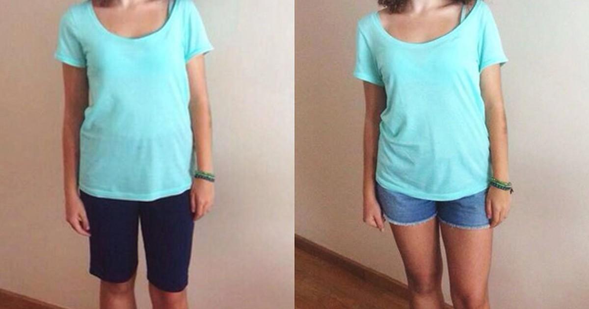 5b310731c G1 - Alunas criticam regras que vetam shorts em escolas - notícias em  Educação