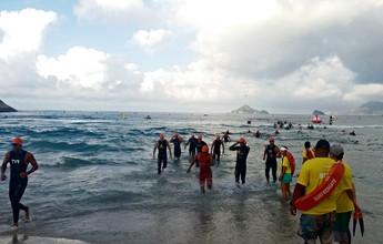 Homem não sai do mar em etapa do Rio Triathlon e segue desaparecido