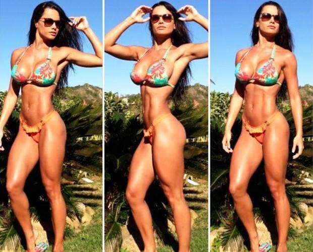 O corpo de Fernanda é de causar inveja em qualquer um (Foto: Arquivo Pessoal)