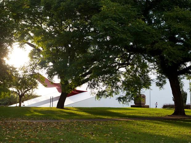 Parque Ibirapuera é o mais visitado de São Paulo  (Foto: Caio Kenji/ G1)