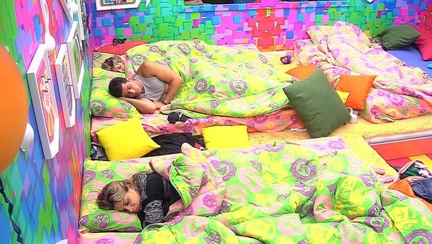BBB às 10h33m do dia 07/03. (Foto: Big Brother Brasil)