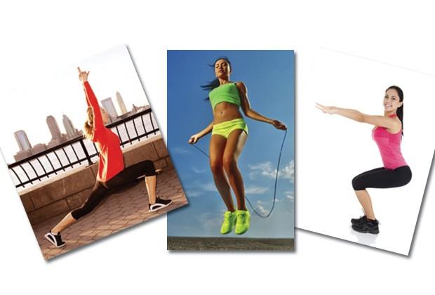 Fuja do sedentarismo, com exercícios e atividades simples, que podem ser praticados em qualquer espaço aberto (Foto: Think Stock)