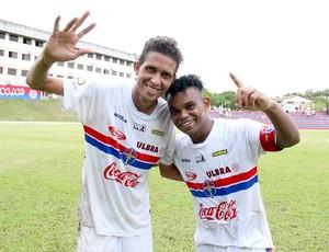 Fast x Nacional Carlinhos Bala e Rosembrick (Foto: Isabella Pina)
