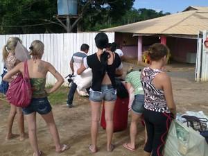 18 pessoas foram resgatadas pela polícia em dois dias de operação (Foto: Glaydson Castro / TV Liberal)