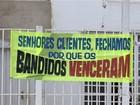 Comerciante desiste de restaurante após furtos: 'Os bandidos venceram'