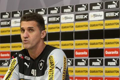Mancini, Treino do Botafogo (Foto: Vitor Silva / SSPress)