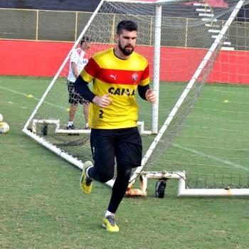 fernando miguel; vitória; fernando miguel vitória (Foto: Francisco Galvão/EC Vitória)