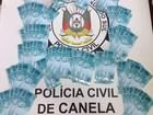 Polícia apreende R$ 13,4 mil em notas falsas em Canela, na Serra do RS