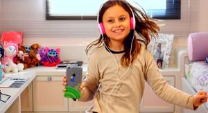 Rafa Gomes tem dez anos e não vive sem Internet, mas encarou o desafio do Estúdio C (Foto: Reprodução/RPC)