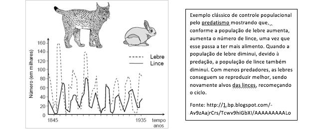 Gráfico sobre controle populacional (Foto: Reprodução)