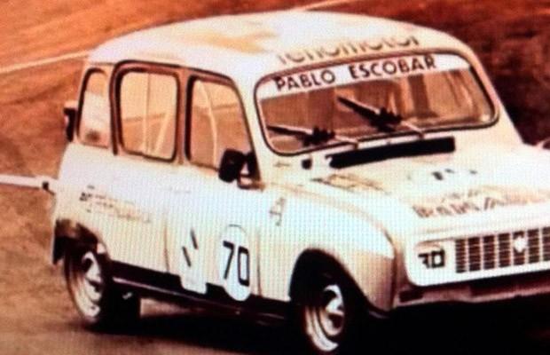 O Renault 4 era um dos seus carros prediletos - afora os carrões (Foto: Reprodução)