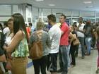 Pagamento de contas inativas do FGTS gera filas no Sul de Minas