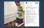 Jackson Follmann apresenta melhoras e já caminha com prótese sem auxílio