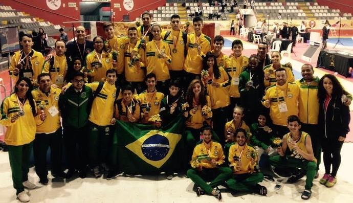 taekwondo, seleção brasileira, sul-americano (Foto: Divulgação)