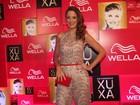 'Meu sonho sempre foi ser paquita', diz Ticiane Pinheiro na festa de Xuxa
