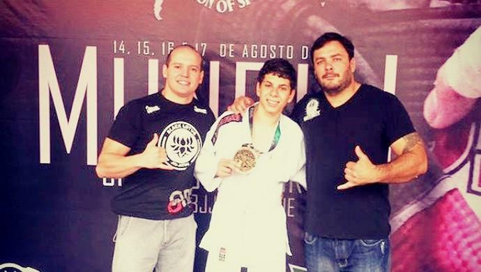 João Paulo Lutador de Jiu-Jitsu de Bom Despacho (Foto: Gustavo Cardoso/Arquivo Pessoal)