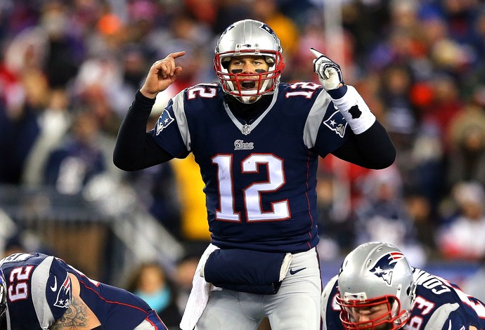 Tom Brady, New England Patriots x Baltimore Ravens NFL (Foto: Maddle Meyer / Getty Image)