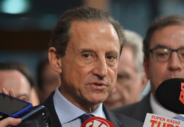 O presidente da Fiesp, Paulo Skaf (Foto: Antonio Cruz/ Agência Brasil)