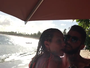 Luana Piovani e Pedro Scooby dançam de rostinho colado: 'Só love'