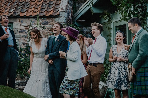 Casamento de Tess e Alfred Newall (Foto: Reprodução/Facebook)