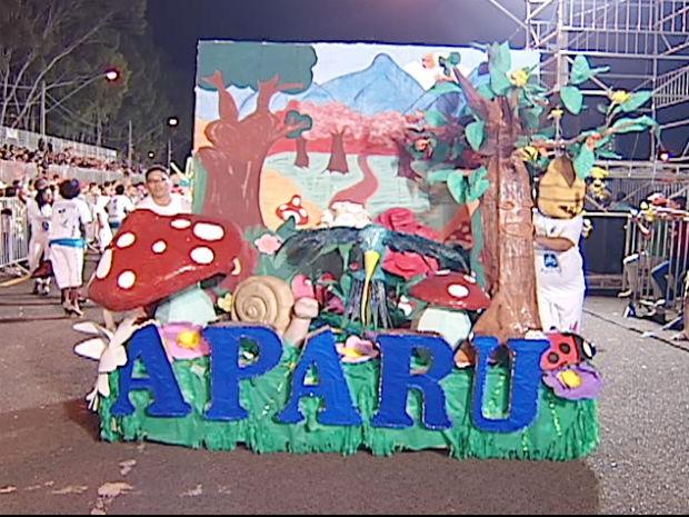 Bloco Aparo Uberlândia (Foto: Reprodução/TV Integração)