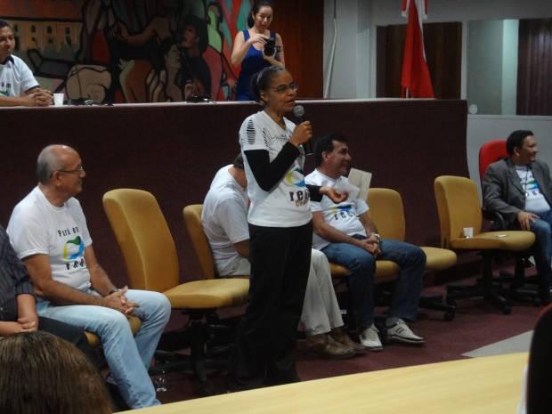 Lideranças regionais da Rede também participaram das discussões (Foto: Ingrid Bico/G1)