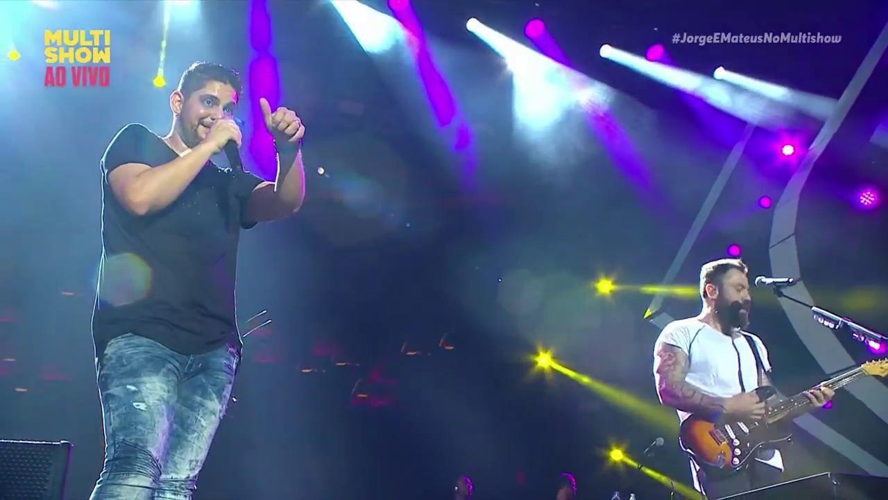 Jorge e Mateus abalando coraes no Festival de Vero de Salvador 2018 (Foto: Divulgao/ Multishow)