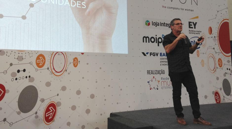 Edgar Corona, na Virada Empreendedora, em São Paulo (Foto: PEGN)