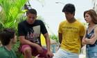 Jabá e Juliana falam pra Lucas assumir filho (TV Globo)
