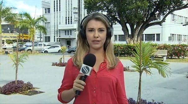 Priscilla Bitencourt fala sobre situação da dengue em Sergipe no Bom Dia Brasil (Foto: Divulgação/TV Sergipe)