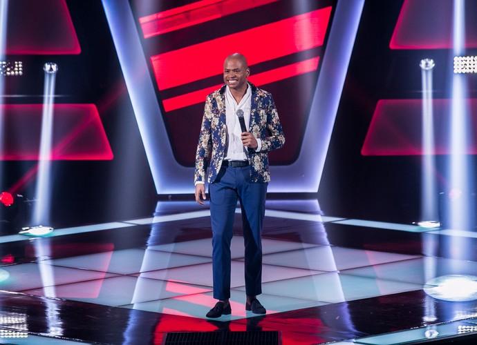 Maurílio de Oliveira canta 'Verdade' no The Voice Brasil (Foto: Isabella Pinheiro/Gshow)