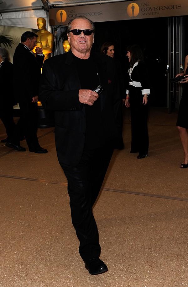 O ator Jack Nicholson (Foto: Getty Images)