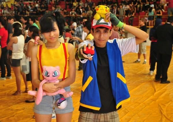 Participantes fazem cosplay dos seus personagens favoritos (Foto: Marcus Cordeiro)