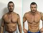 Kléber Bambam exibe tanquinho em fotos de antes e depois: 'Mutante'